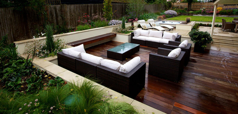 Contemporary Gardens Front Gardens Traditional Gardens Small Gardens · Home  Garden Design ...